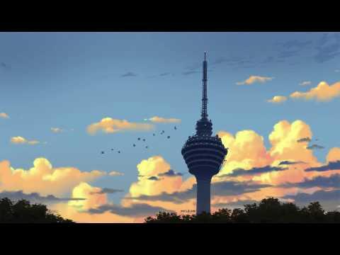 Evening Tower Digital Painting