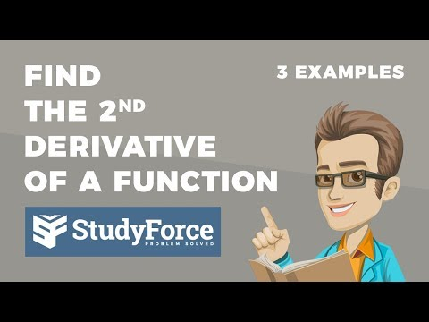 📚 How to find the second derivative of a function