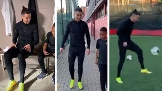 Cristiano Ronaldo and Tekkerz kid plays in football Live streaming