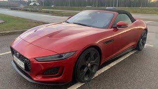 Сел в F-Type втопил на Jaguar