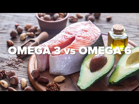 Omega 3 vs. Omega 6 Fats - What's the Difference?