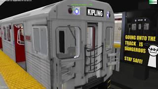 openBVE Toronto Line 2 T1 train *Arcade Mode*