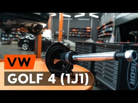 Как заменить переднюю стойку амортизатора наVW GOLF 4 (1J1) [TUTORIAL AUTODOC]