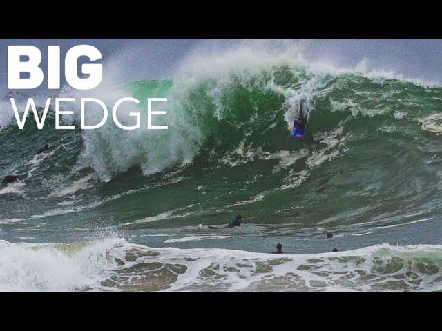 Pros at The Wedge - Biggest Swell of 2018 (so far) May 23rd