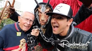 The Craziest Party in Town! Bob Gurr, Krampus, and Meetup!
