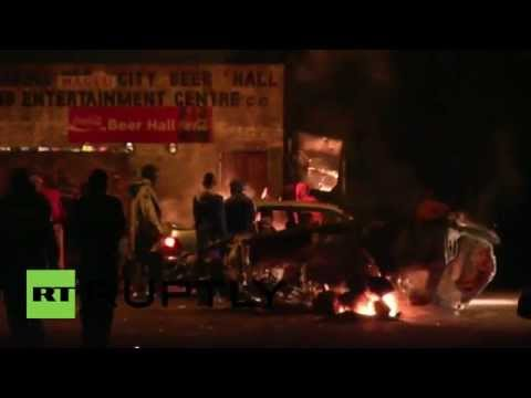 South Africa: Foreigners forced to flee as 'xenophobic' violence hits Jo'burg