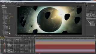 The Space - Element 3D After Effect Project FIle