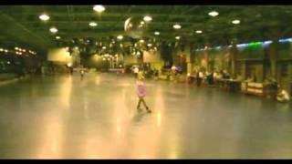 Янушевская Алла (Roller School),  2-е место в категории pro