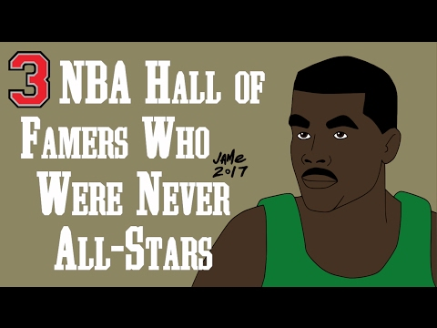 3 NBA Players in the Basketball Hall of Fame... Who Were NEVER All-Stars