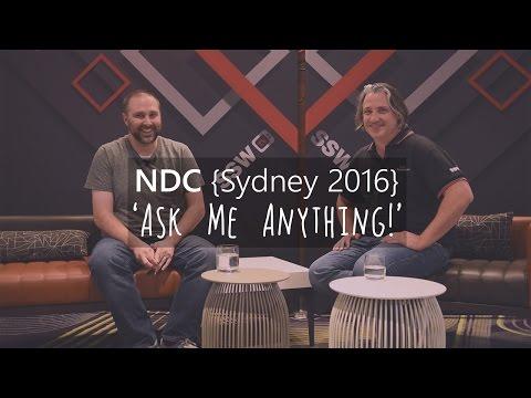 NDC Sydney 2016 – AMA with Nik Molnar (Glimpse, Progressive Web Apps, Web Apps vs Native)