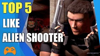 Top 5 Top-Down Shooter games like Alien Shooter