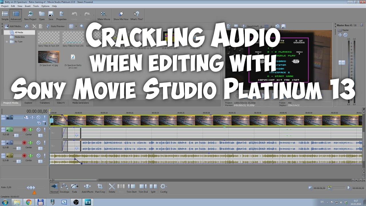 audio crackling youtube