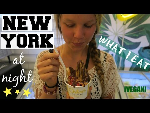 WHAT I EAT IN NEW YORK [VEGAN] || Whole Foods, Times Square & Icecream