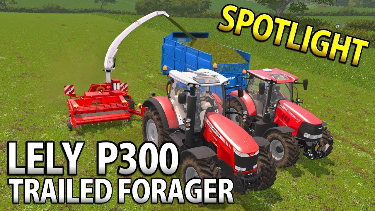 LELY P300 TRAILED HARVESTERS | Farming Simulator 17 | Mod Spotlight