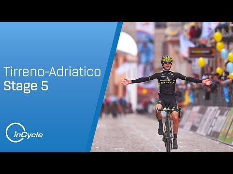 Tirreno-Adriatico 2018: Stage 5 Highlights