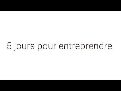 5 Jours pour Entreprendre CCI Mayotte