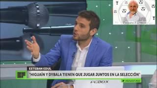 ¿Higuain debe seguir siendo el TITULAR en la Selección?