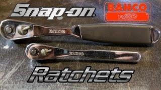 2 Unique Snap-on Bahco Ratchets ✔
