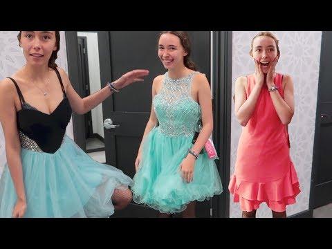 HOMECOMING DRESS SHOPPING HAUL 2017!!
