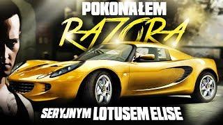 Pokonałem Razora seryjnym Lotusem Elise - NFS: Most Wanted'05