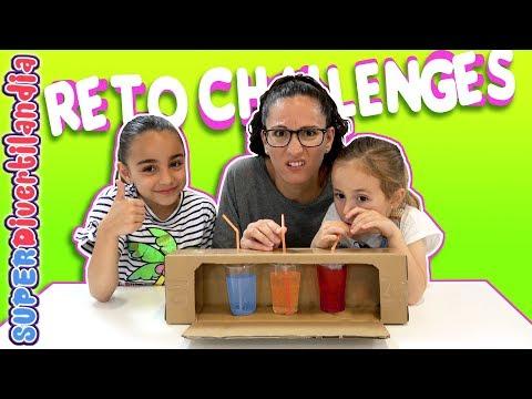 DARDOS, BEBIDA INCORRECTA, GUMMY vs... RETO de los CHALLENGES 3!