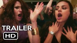 Bad Moms Official Trailer #2 (2016) Mila Kunis, Kristen Bell Comedy Movie HD