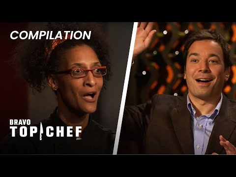 The Best Celebrity Judge Reactions Ft. Jimmy Fallon, Charlize Theron & Natalie Portman | Top Chef