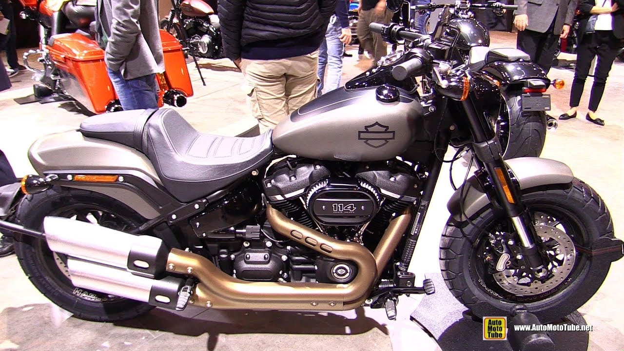 2018 Harley Davidson Fat Boy 114 - Walkaround - 2017 EICMA ...