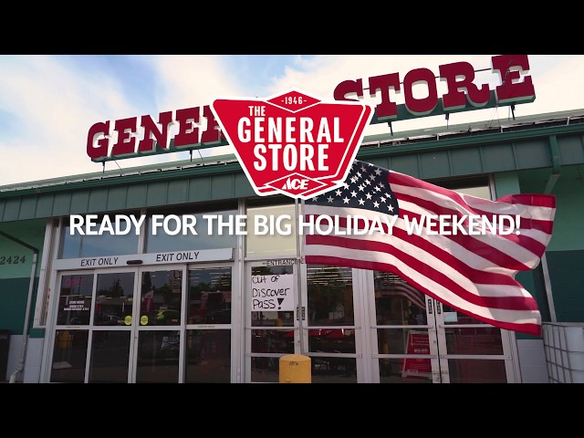 Memorial Day Sale 2020 at The General Store and General Store Outpost