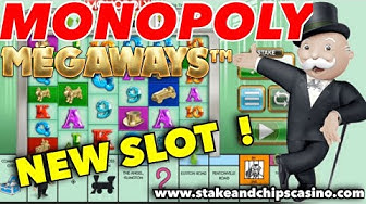 WHATS IT LIKE ? 🚨 NEW MONOPOLY SLOT MEGAWAYS 🚨 Casino Game Play Review & WIN