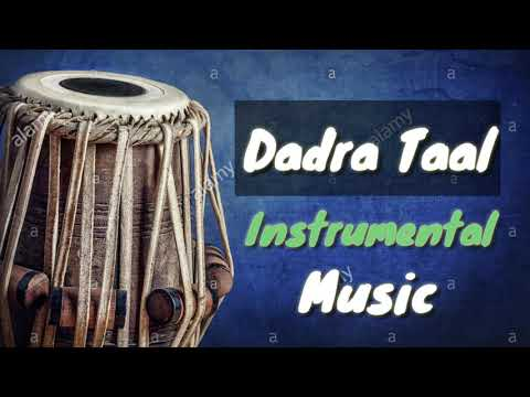 Taal-Dadra (fast)।। Tabla for practicing vocal and instrumental music।।