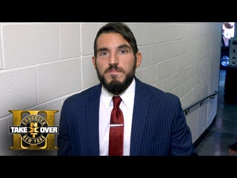 Johnny Gargano won't be by himself tonight at TakeOver: Brooklyn III: Exclusive, Aug. 19, 2017