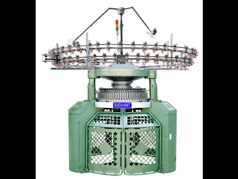 Circular Knitting Machines for Double Jersey Rib Interlock