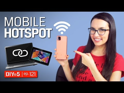 Smartphone Tips - How To Setup A Mobile Hotspot On Android And IPhone – DIY In 5 Ep 121