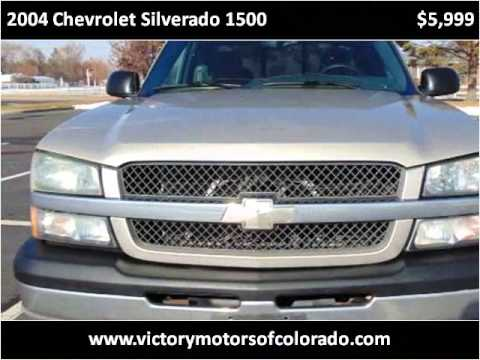 2004 chevrolet silverado 1500 used cars longmont co youtube for Victory motors trucks longmont
