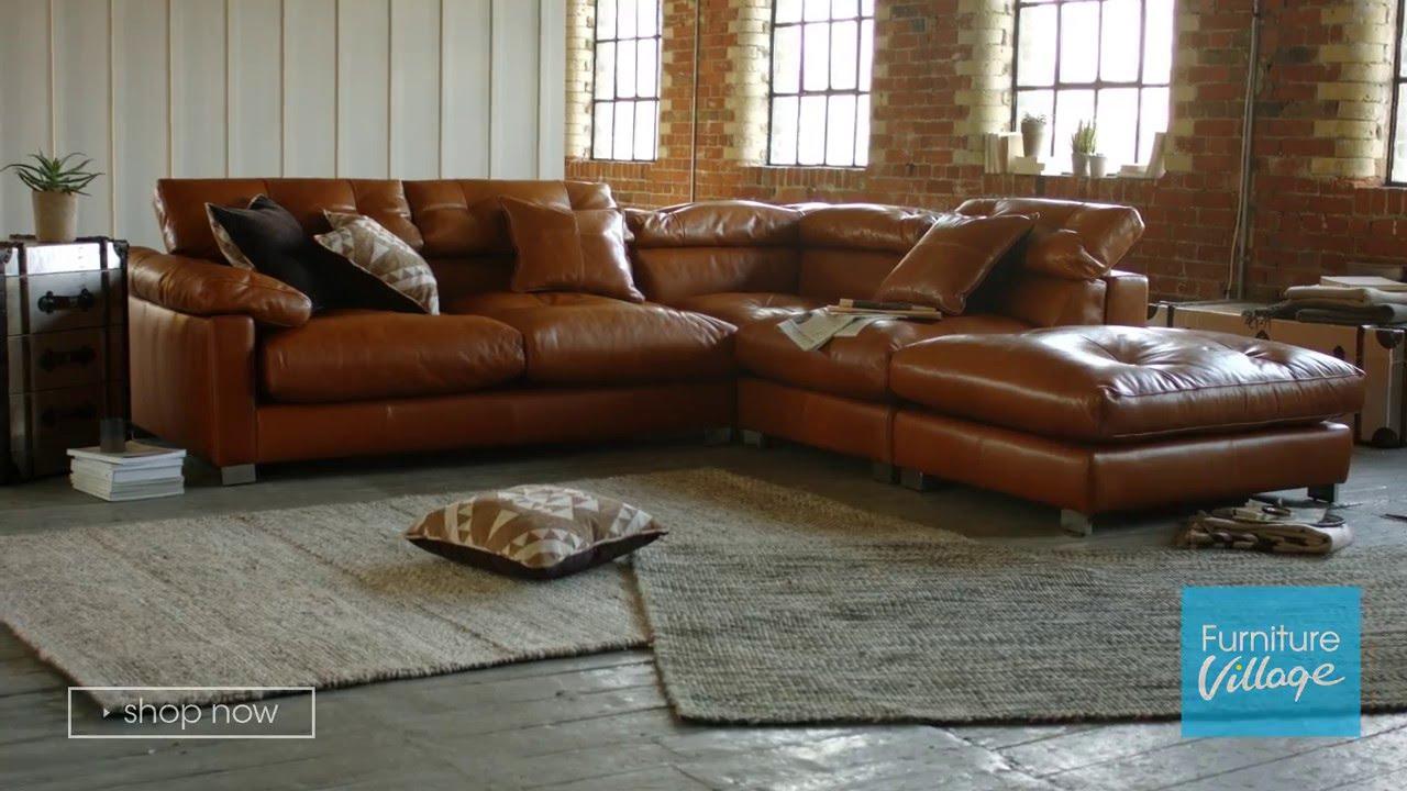 corner chaise leather sofa fusion furniture village