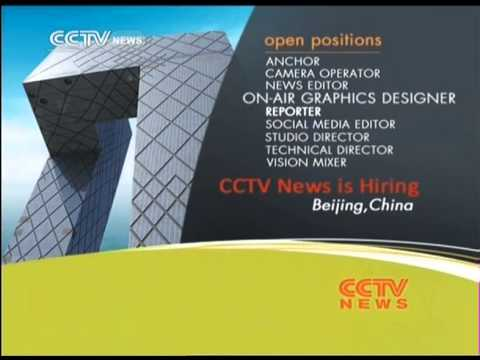 CCTV News is Hiring