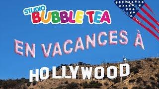 [VLOG] Départ pour Los Angeles, visite de l'A380, jeu en chocolat - Studio Bubble Tea