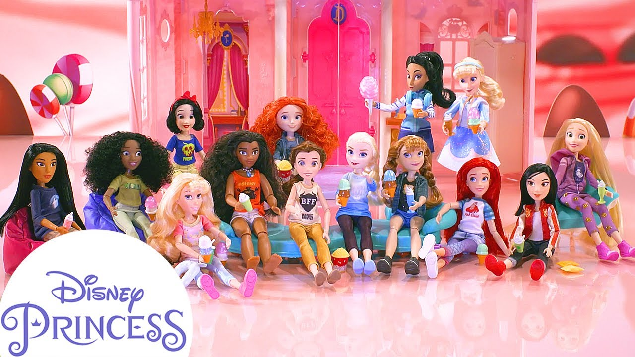 Disney Princess Comfy Squad   Ice Cream Emergency
