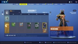 Fortnite Battle Royale - Season 7 Battle Pass Showcase