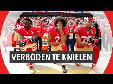 Waarom knielen American football-spelers? | NOS op 3