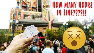 Guardians Of The Galaxy Disneyland Ride POV (WAIT LINES GOT CRAZY)