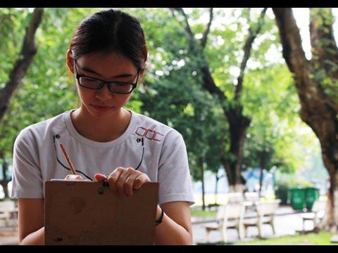 Nữ sinh Sài Gòn được điểm 10 môn Vẽ