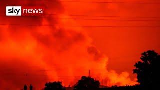 Africa: Thousands flee erupting volcano in DR Congo