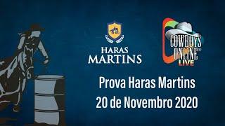Live Prova Haras Martins 20/11/2020