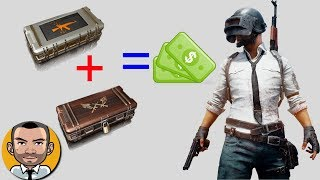 PUBG - How To Make Money Selling Crates (Updated with Triumph/Raider Crates)