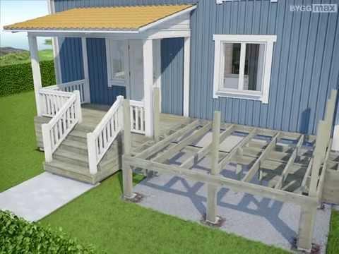 Byggmax tips, Bygg terrasse (Del 5 - Skru terrassebord og ramme ...