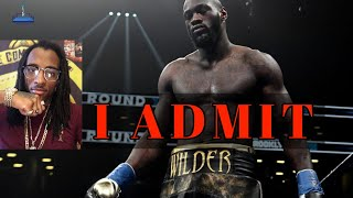 UNDENIABLE EVIDENCE Deontay Wilder CHEATED too [YOUNG PHARAOH AGREES]