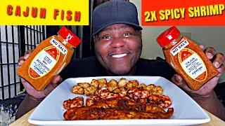 CAJUN FISH &amp 2X SPICY SHRIMP  MARSHALLS CREEK NO SALT SEASONINGS REVIEW  Q&ampA PART 2