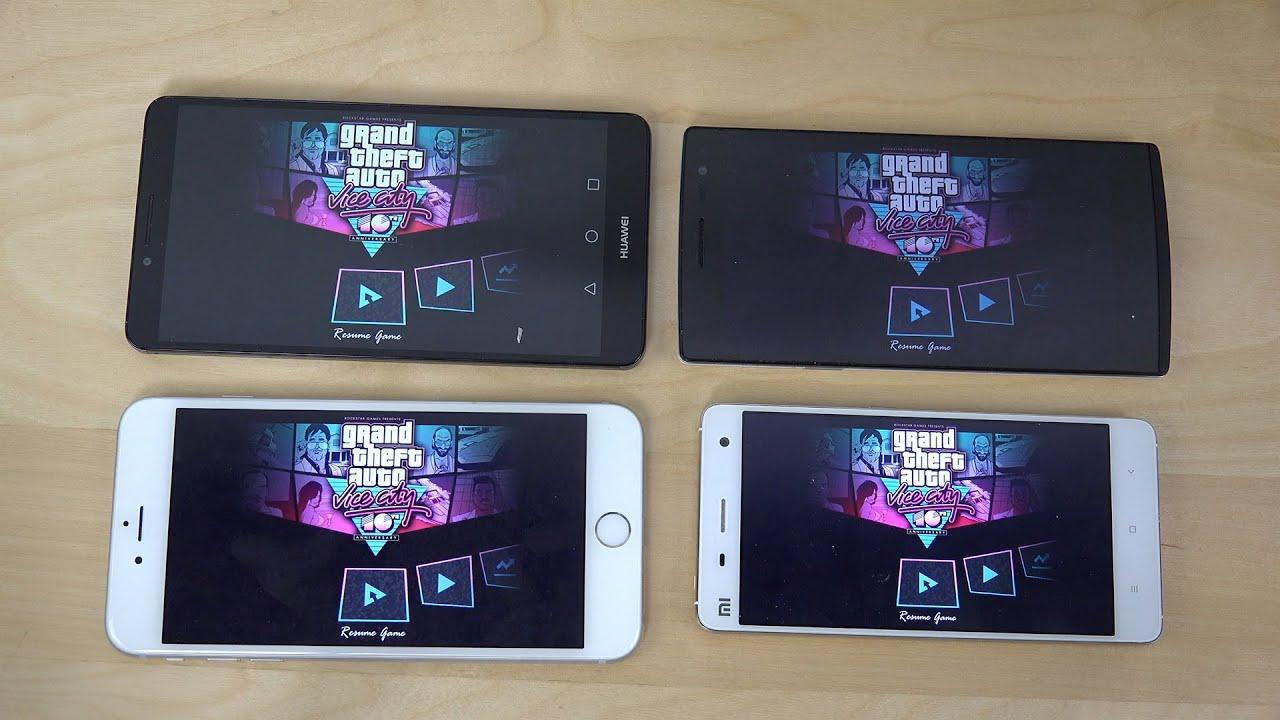 Xiaomi Mi4 vs. iPhone 6 Plus vs. Oppo Find 7 vs. Ascend ...